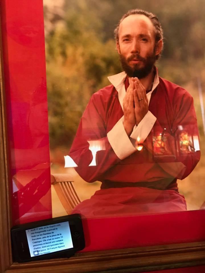 Robert Spatz alias Lama Kunzang in 2017