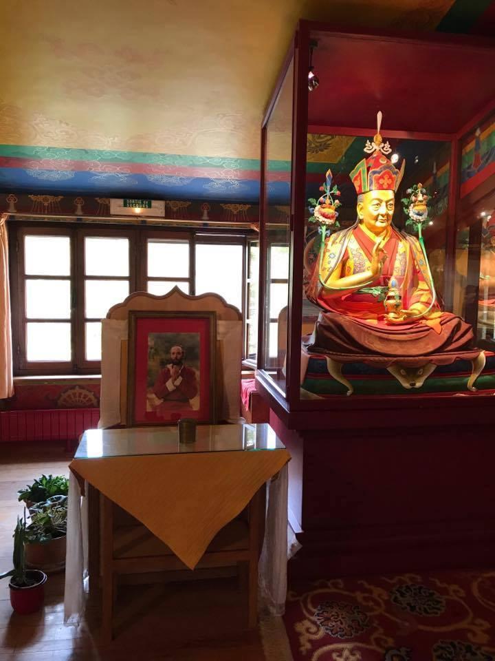 Robert Spatz alias Lama Kunzang Nyima-Dzong 2017